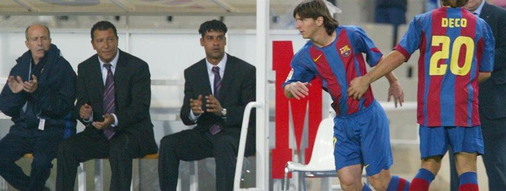 Se cumplen 15 años del debut oficial de Lionel Messi en la Primera del Barcelona.