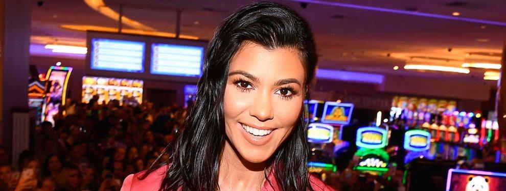 Kourtney Kardashian reapareció y dejó una foto que no pasó desapercibida para nadie