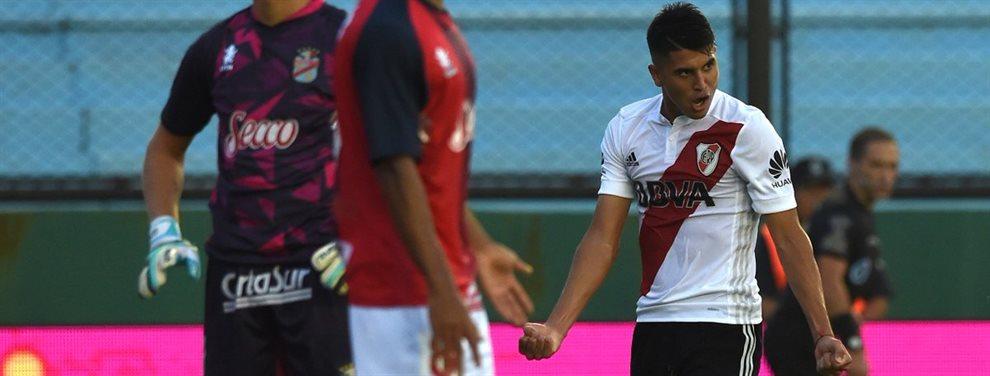 La última visita de RIver a Arsenal en Sarandí también fue con equipo alternativo y culminó con una goleada a favor.