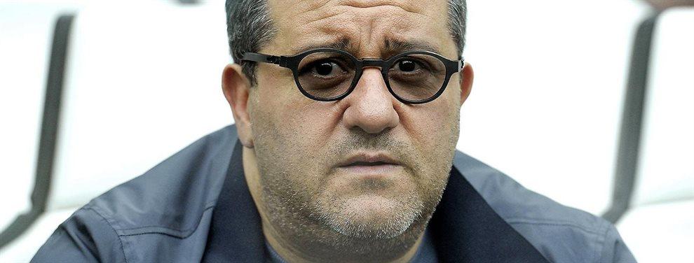 Mino Raiola ha ofrecido a Florentino Pérez el fichaje de Donyell Malen y Mohamed Ihattaren