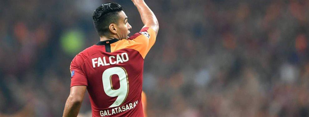 Radamel Falcao puede dejar el Galatasaray y el Sevilla ya ha llamado para traerle de vuelta