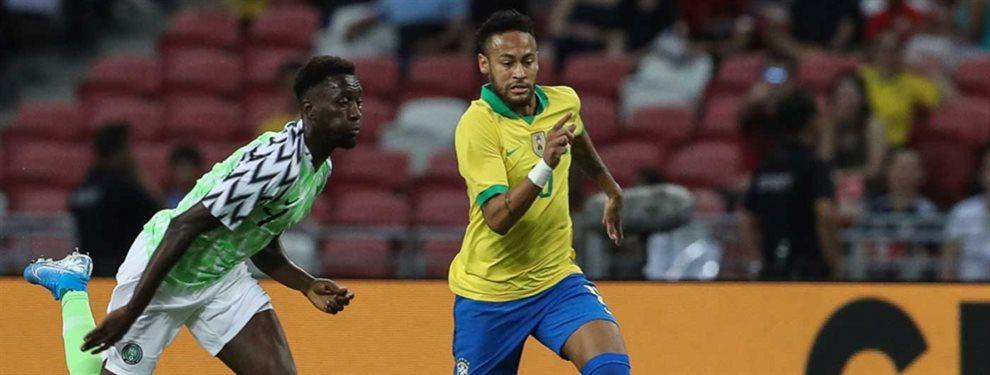 Neymar Junior ha llamado la atención del Chelsea, que tiene un as en la manga para su fichaje