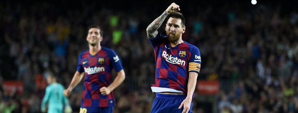 Leo Messi ha dicho que no quiere tener en su equipo al delantero noruego Erling Haland