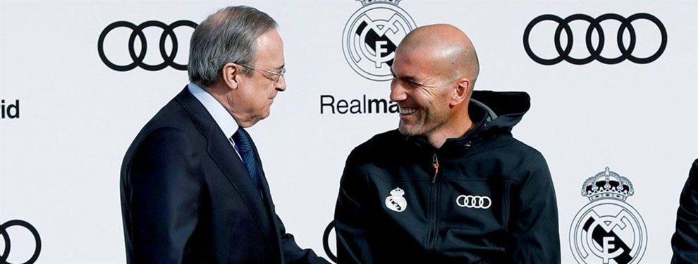 Zinedine Zidane no está nada contento con Luka Jovic, que puede salir. Y no descarta un traspaso.