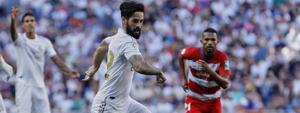 Isco Alarcón prepara su salida del Real Madrid y su destino podría ser el Tottenham