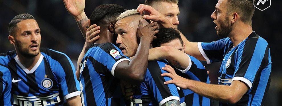 Los presidentes del Real Madrid y del Barcelona ya saben que el Inter tiene 108 millones para fichar y no están tranquilos porque sus cracks están a tiro