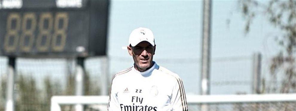 Zidane no se rinde para traer a uno de sus caprichos a jugar en sus filas en el Real Madrid: Florentino no opina lo mismo y además tiene otros planes