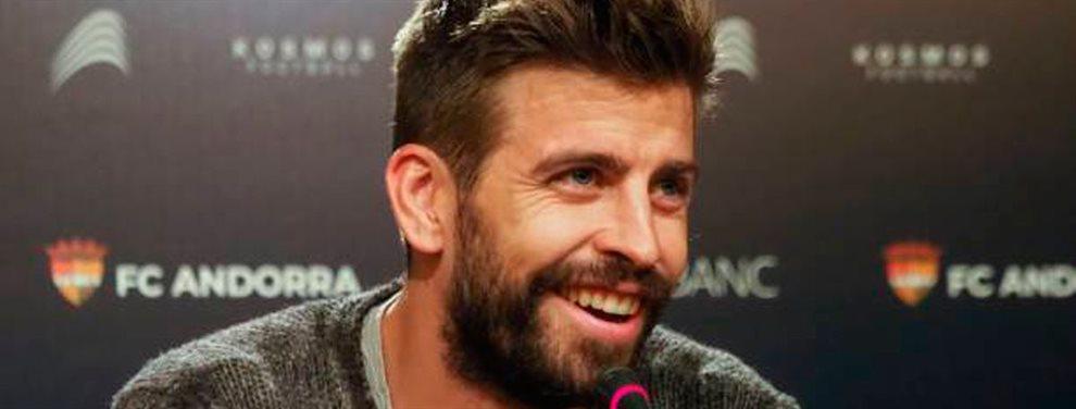 Piqué en su estadía por el Barcelona ha compartido equipo con grandísimos futbolistas, entre ellos el mejor en la historia del club.