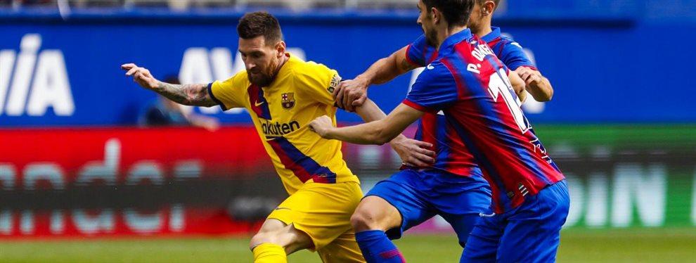 Leo Messi ha sido uno de los protagonistas de la victoria por 3-0 del Barça en el campo del Eibar.