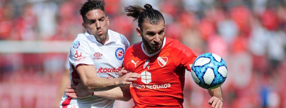 Independiente y Argentinos Juniors se enfrentaron en el Estadio Libertadores de América por la fecha 10 de la Superliga.