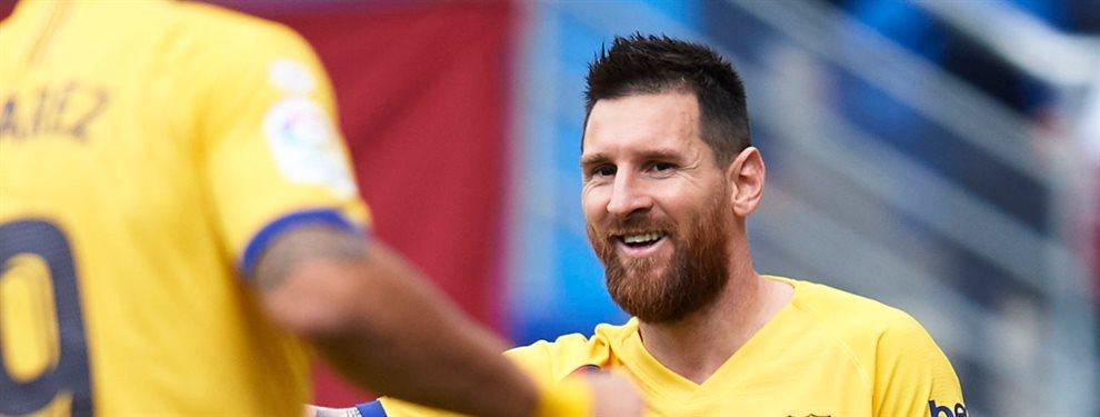 Messi aún piensa que existen posibilidades de reencontrarse con uno de sus mejores socios dentro de la cancha.