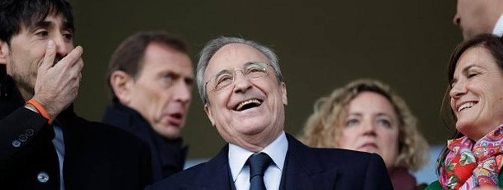 La tensa calma que se vive en las oficinas del Real Madrid solo puede significar que Florentino Pérez se trae algo entre manos.