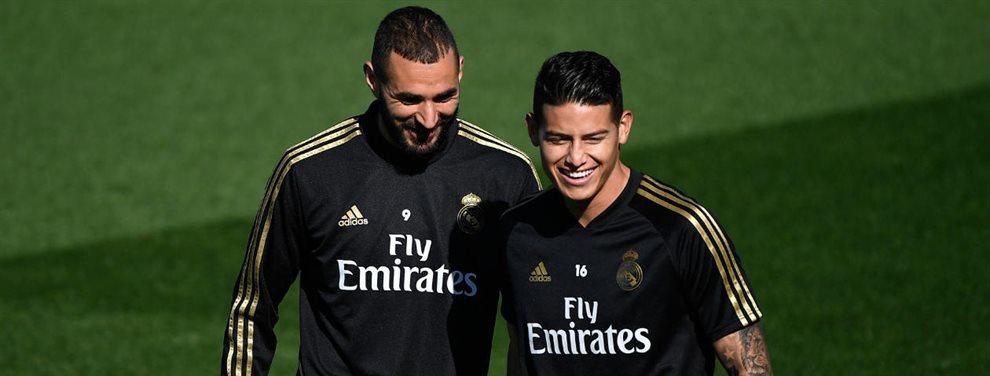 El Real Madrid está dispuesto a pagar 30 millones más James Rodríguez por Fabián Ruiz al Napoli