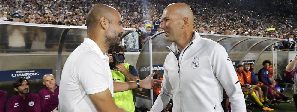 El Manchester City y el Real Madrid negocian un interacambio de cromos con Varane y Gabriel Jesús como protagonistas