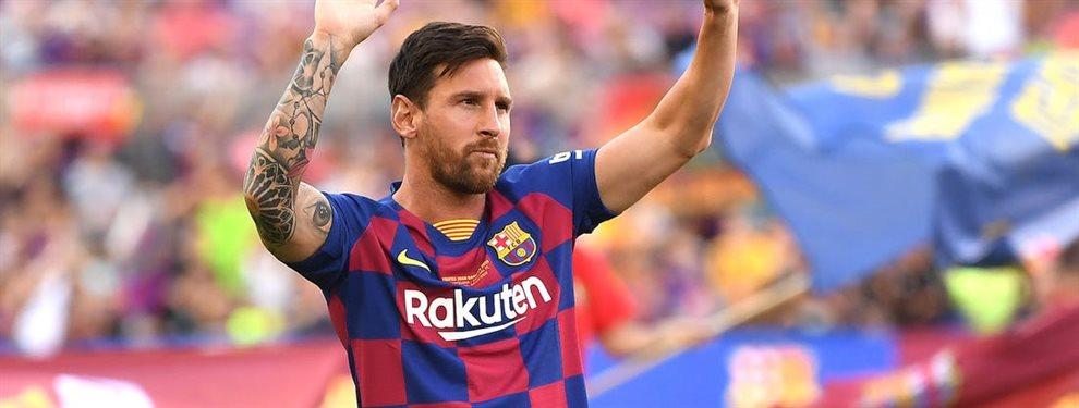 Leo Messi sigue a Thibaut Courtois en las redes sociales, lo que ha sorprendido a todos