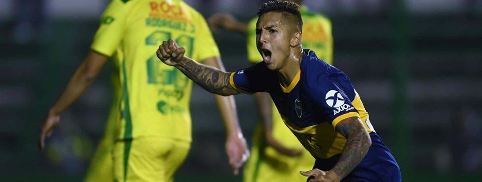 Agustín Almendra será titular en el mediocampo de Boca en la semifinal de vuelta ante River.