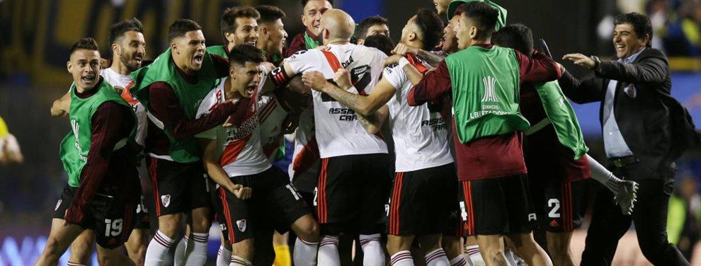 Boca y River se enfrentaron en el Superclásico en el marco de la semifinal de vuelta de la Copa Libertadores.