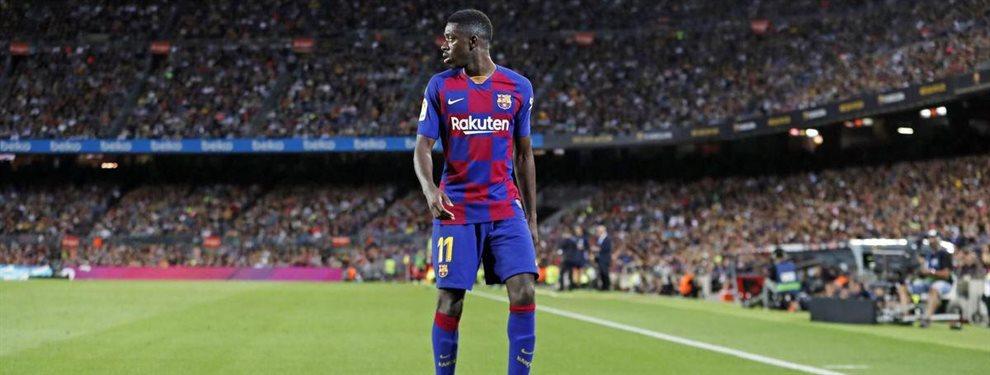 Ousmane Dembélé está sentenciado en el Barça, que ya tendría en mente a su relevo: Dani Olmo