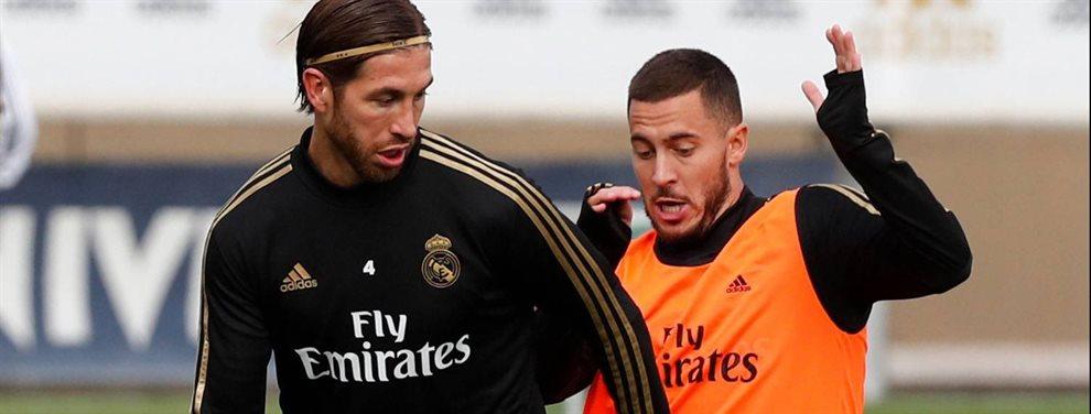 Sergio Ramos estalla y echa la culpa de los errores defensivos a otro crack del Madrid ¡la tensión se vio sobre el campo y le pide a Zidane que le quite!