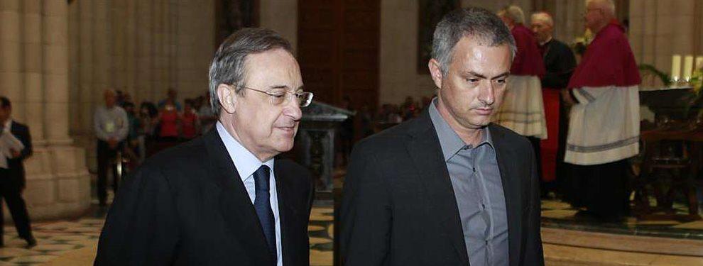 José Mourinho y Florentino Pérez se han reunido en diferentes ocasiones, pero la última traía bombazo