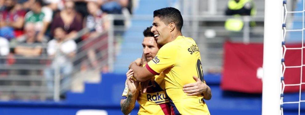 ¡El Barça lo consigue! Realiza el fichaje más esperado para afrontar los meses de invierno con más pegada ¡Messi y Luis Suárez lo pedían y ya está aquí!