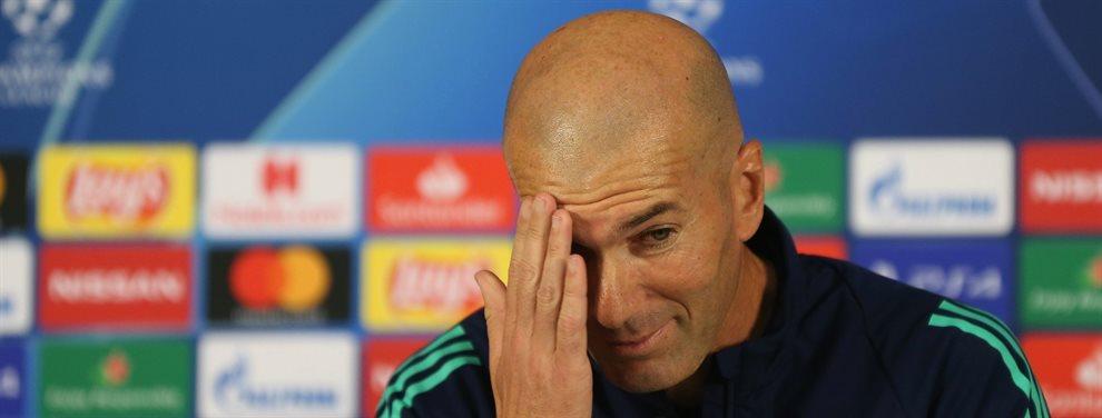 Zinedine Zidane ha conseguido alargar su vida y ya ha pedido, de cara a enero, el fichaje de un crack