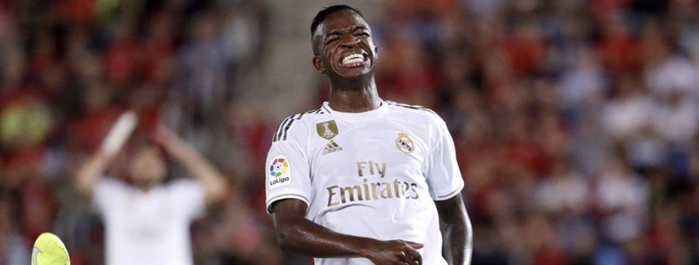 Vinicius Junior está en la rampa de salida del Real Madrid y tiene dos vías de futuro