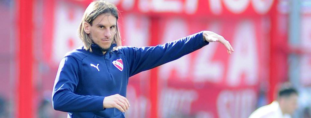 Sebastián Beccacece realizaría un cambio sorpresivo para el partido de Independiente ante Lanús.