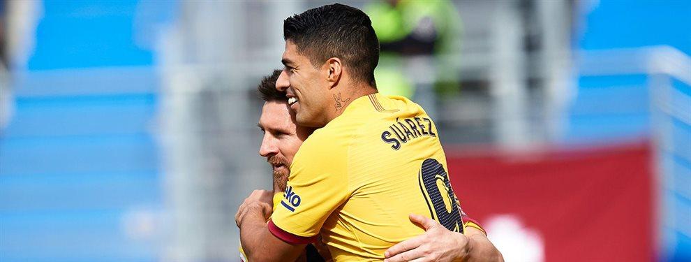 Luis Suárez y Leo Messi han señalado a Nelson Semedo, Arthur y Clément Lenglet tras el partido ante el Slavia de Praga