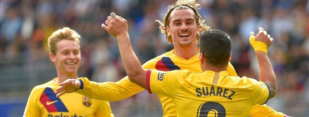 Luis Suárez y Leo Messi echarán a Ousmane Dembélé del Barça y podría llegar Ander Barrenetxea