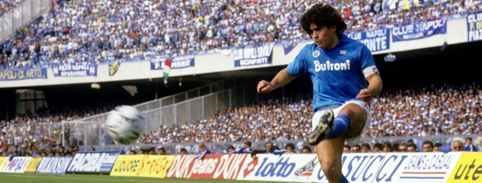 La revolución en Italia está en marcha y Cristiano Ronaldo no se lo cree ¡El Nápoles ficha al nuevo Maradona y la Serie A tiembla ante este efecto brutal!