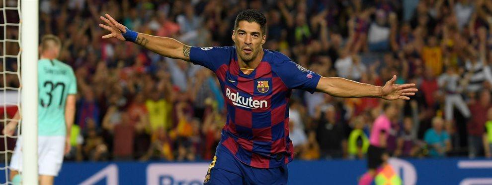 Luis Suárez no será eterno y el Barça se ha fijado en un posible recambio: Gabriel Barbosa