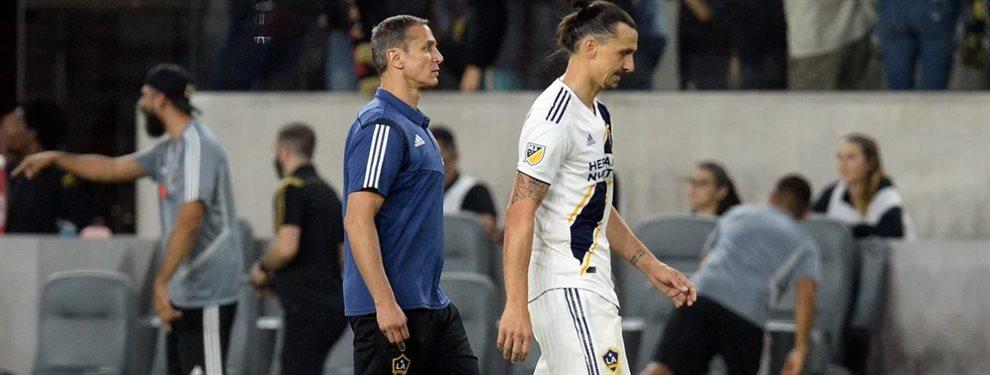 Zlatan Ibrahimovic se refirió a su futuro luego de que Los Angeles Galaxy fueran eliminados en la MLS.