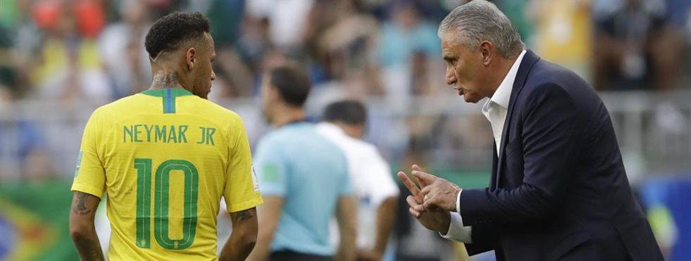 Sin Neymar, Brasil anunció a los convocados del extranjero para enfrentarse con Argentina.