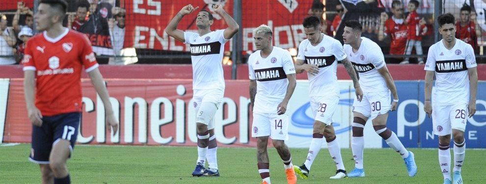 En el Estadio Marcelo Bielsa, Lanús derrotó 2-0 a Independiente por la Copa Argentina.