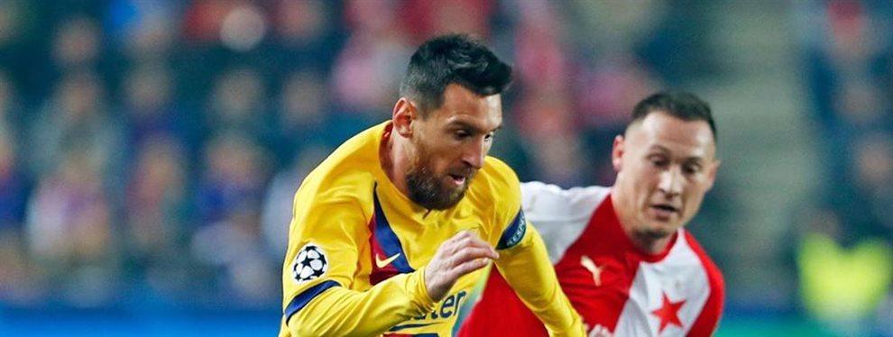 Messi ya tiene un nuevo rumbo en el que fijarse y además para sorpresa de todos no es inglés: Valverde ya dijo que no va a retener a la estrella del equipo