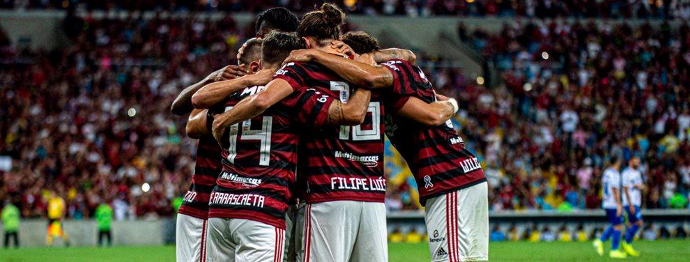 Flamengo podría llegar a la final de la Copa Libertadores ante River siendo campeón del Brasileirao.