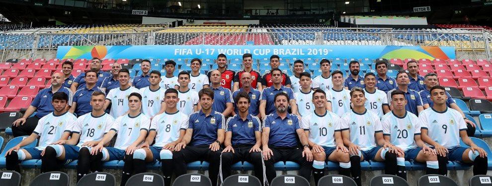 La Selección Argentina Sub 17 realiza su debut en el Mundial enfrentando a España.