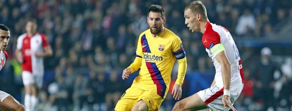 Leo Messi está muy disgustado al escuchar que el Balón de Oro se lo llevará Cristiano Ronaldo