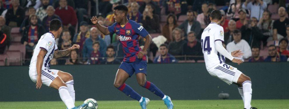 El Barça venció con superioridad al Valladolid, pero el protagonista, una vez más, fue Ansu Fati