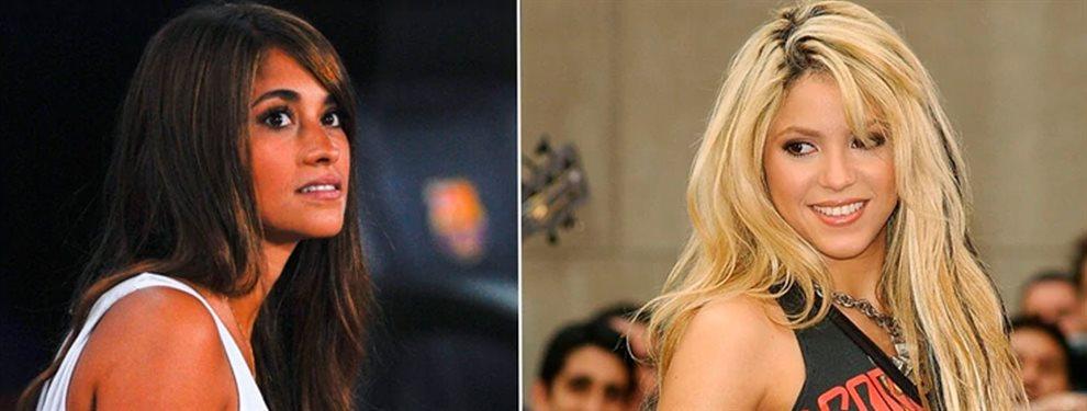 Shakira tuvo la sangre fría de decir 'no' a la invitación de Antonella Roccuzzo para cenar