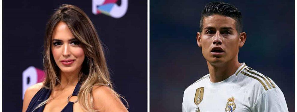 Shannon de Lima y James Rodríguez atraviesan momentos complicados tras el nacimiento del segundo hijo del colombiano