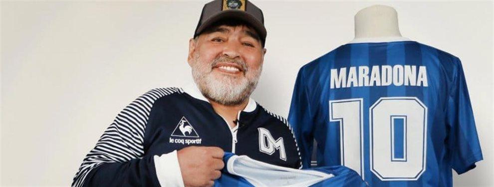 Gimnasia de La Plata lanzó una tercera camiseta en homenaje a sucesos de la vida de Diego Maradona.