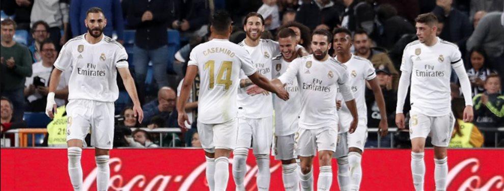 El Real Madrid logró superar cómodamente al Leganés con un contundente cinco a cero