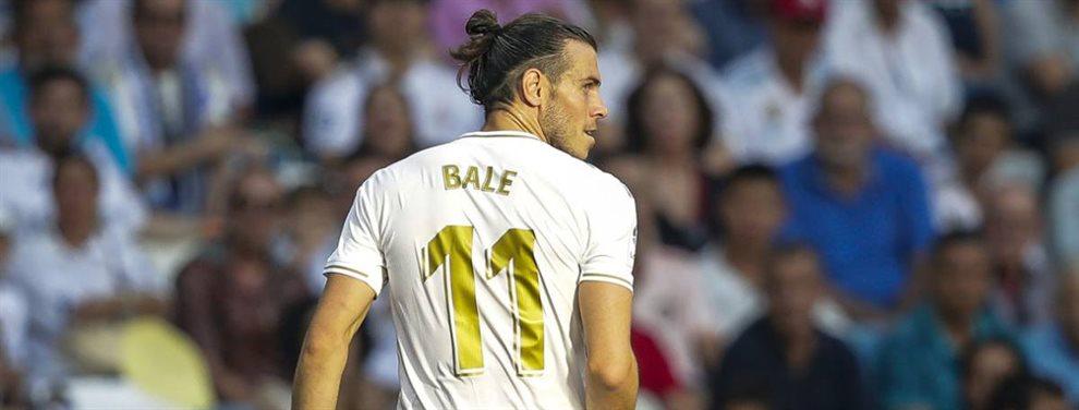 Gareth Bale fue captado por las cámaras abandonando el Santiago Bernabéu antes del pitido final