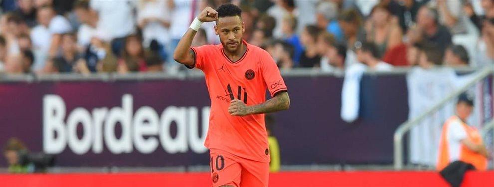 Neymar Junior no hizo ningún esfuerzo salarial para volver al Barça, lo que finalmente lo impidió