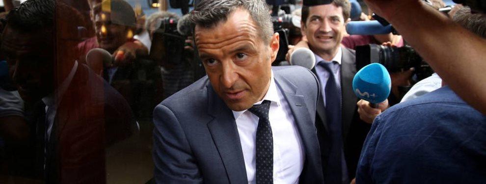 Cuando todo el mundo se lo pregunta, aparece Jorge Mendes: llama a Florentino Pérez y le ofrece el recambio para Casemiro, joven, con futuro y por 50 kilos