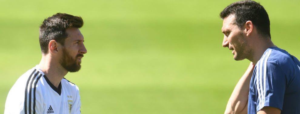 Lionel Scaloni brindó la nueva lista de convocados de la Selección Argentina, en la que regresa Lionel Messi.