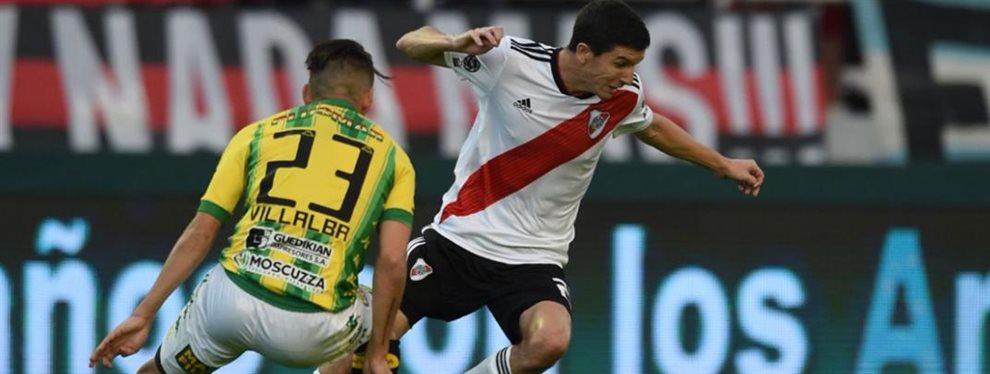 River visita a Aldosivi en el Estadio José María Minella de Mar del Plata en el marco de la fecha 12 de la Superliga.