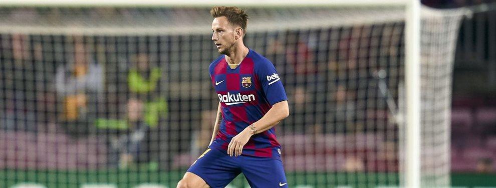 Ivan Rakitic ha decidido no dejar el Barça y seguir hasta final de temporada, lo que no entienden